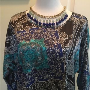 Chicos blue/black tunic